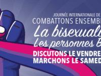 Journée Internationale de la Bisexualité : exprimons notre solidarité et « marchons tou-te-s ensemble » !