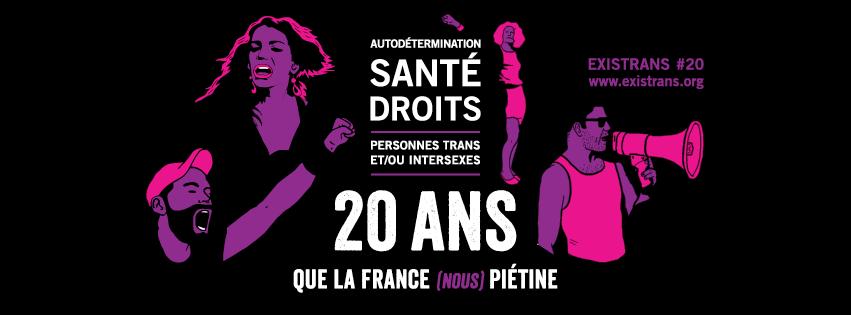 Autodétermination, santé, droits pour les personnes trans et/ou intersexes : « 20 ans que la France piétine ! »