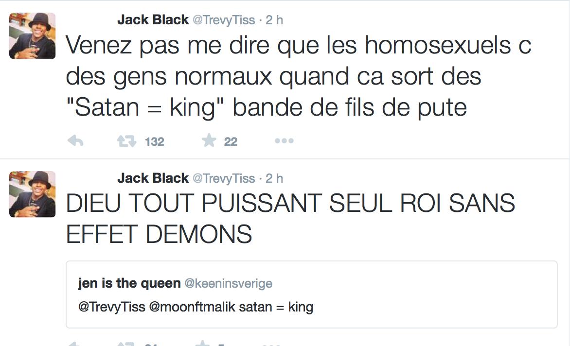Cette obsession des homophobes : Trevy, une trentaine de comptes sur twitter dédiés à la haine