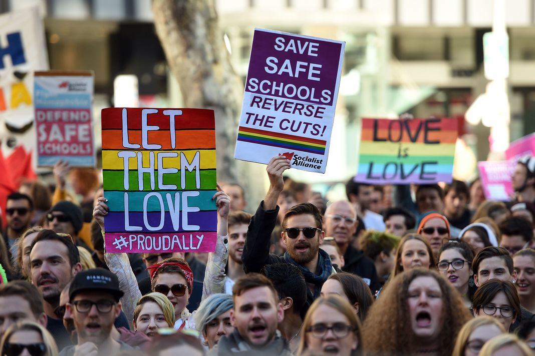 Australie : l'adoption du « mariage pour tous » reportée jusqu'aux prochaines législatives en 2019