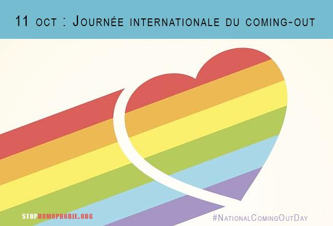 Témoignages : C'est la Journée Internationale du Coming-Out, comme tous les 11 octobre depuis 1988