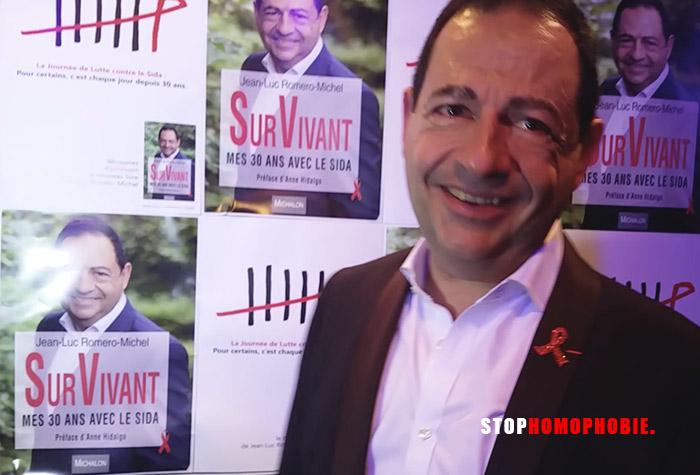« Construire ma vie avec le VIH alors qu'on me promettait la mort »,  Jean-Luc Romero (VIDEOS)