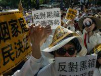 Manifestation à Taïwan contre un projet de loi ouvrant le mariage aux personnes du même sexe