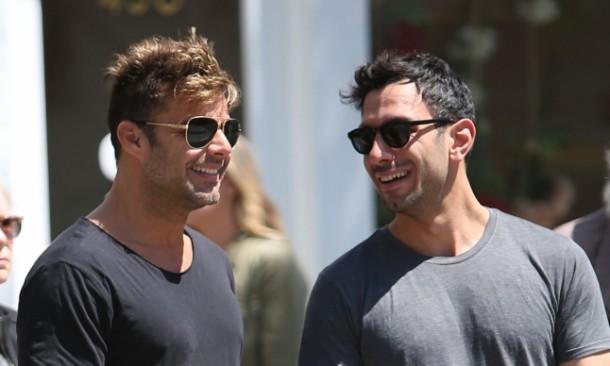 People : Après un an d'idylle, Ricky Martin annonce ses fiançailles avec le peintre londonien Jwan Yosef (VIDEO)