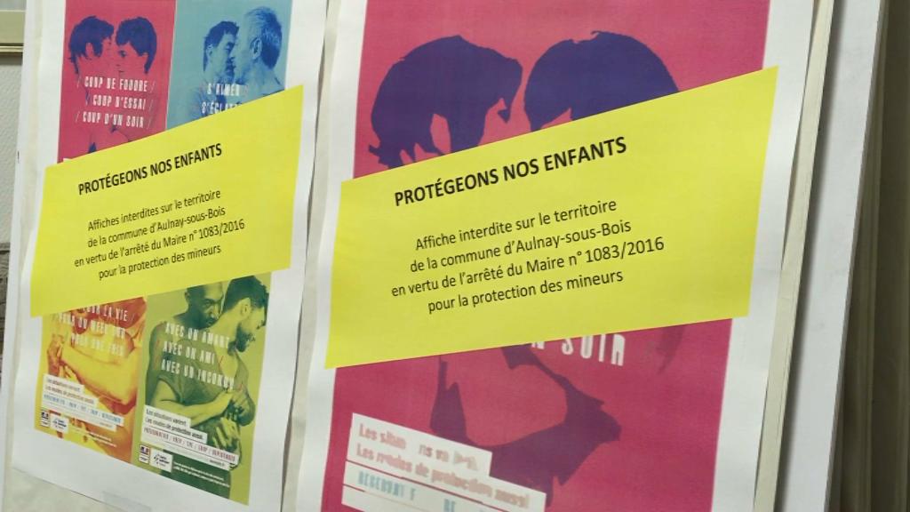 Affiches de prévention du VIH : blogueur et élus poursuivis par le maire d'Aulnay relaxés