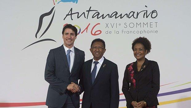 Sommet de la Francophonie : Justin Trudeau évoque les droits des homosexuels à Madagascar (VIDEO)