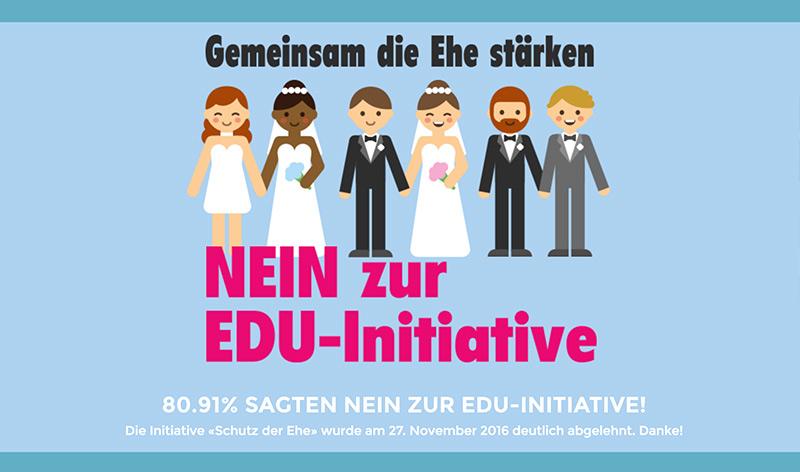 Suisse : Les Zurichois rejettent l'initiative d'un parti d'obédience chrétienne contre l'égalité des droits du mariage