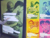 « Déferlement homophobe » contre la nouvelle campagne de prévention santé VIH, d'ailleurs vandalisée (VIDEO)