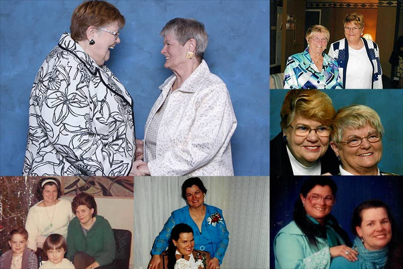 Jean Baker et Sharon Colter, deux arrière-grands-mères, célèbrent leurs « 50 ans » de vie de couple