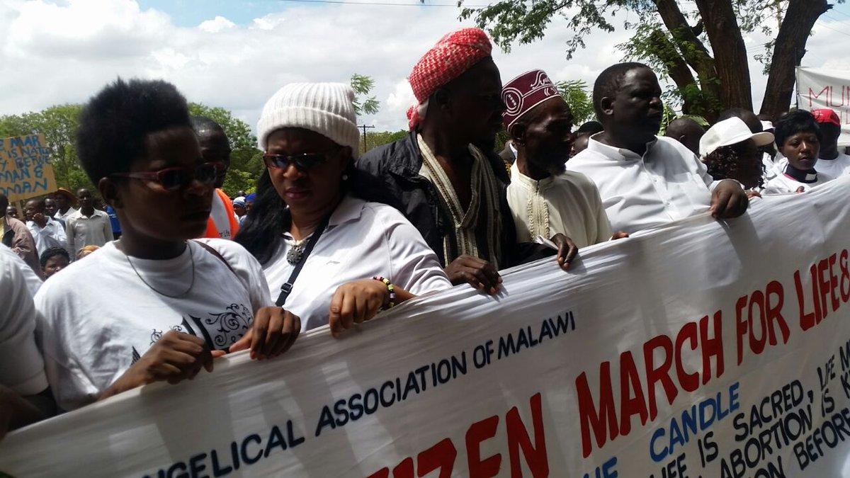 Manifestations au Malawi contre le droit à l'avortement et la dépénalisation de l'homosexualité