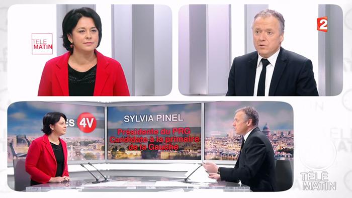 Primaire de la gauche et des écologistes : Sylvia Pinel favorable à l'ouverture de la PMA pour toutes (VIDEO)