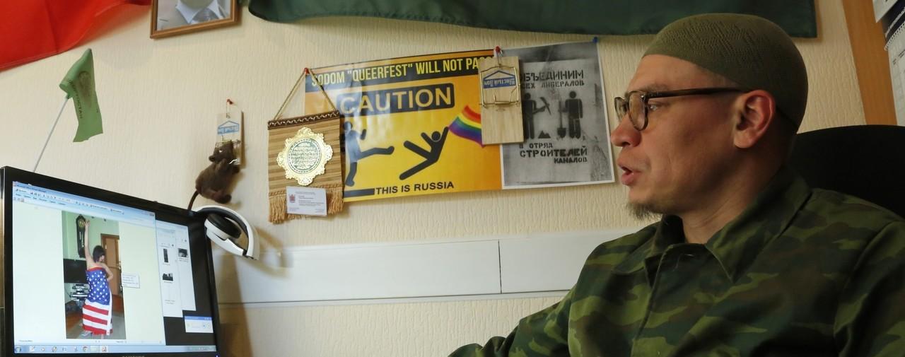 Timour Boulatov, cet activiste russe anti-LGBT qui « traque les enseignants homosexuels »