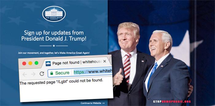 Droits civiques, des femmes ou des « LGBT », sitôt Donald Trump investi, la Maison Blanche fait le « grand ménage » sur son site