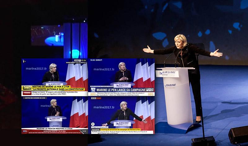 « Assises FN » : Marine Le Pen réaffirme sa volonté de « remplacer » la loi mariage et adoption pour tous (VIDEOS)