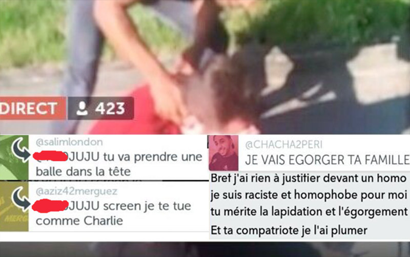Agression homophobe en bande organisée près de Libourne : Ils voulaient soumettre « un petit fils de pute de pédé »