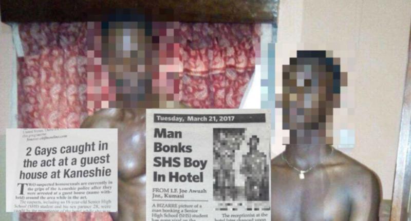 Accusés d'homosexualité, deux hommes contraints au Ghana à un simulacre pornographique pour choquer l'opinion