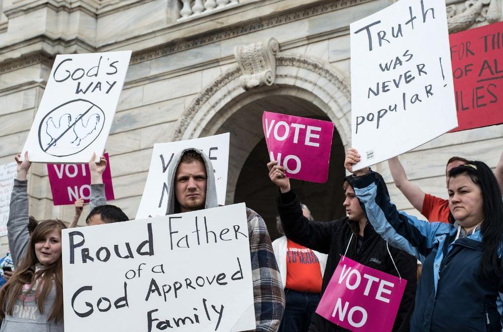 Les législations et projets de loi discriminatoires anti-LGBT en hausse dans 23 Etats américains