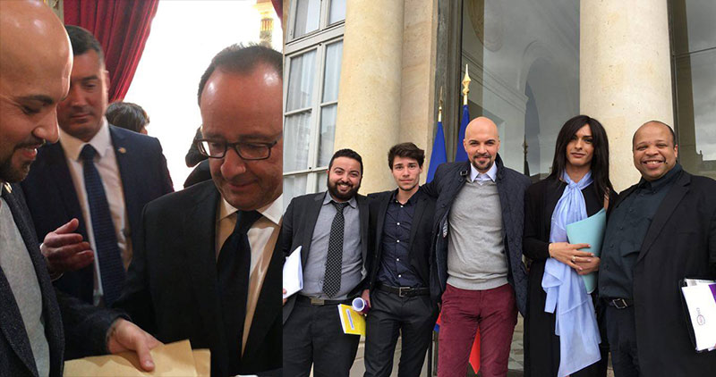 Mobilisation contre la haine anti-LGBT : François Hollande estime qu'il y a encore « de nombreux combats à mener » (VIDEO)