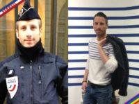 Hommage à Xavier Jugelé, Gardien de la Paix décédé lors de l'attentat des Champs Elysée (VIDEO)