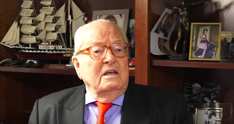 L'hommage à Xavier Jugelé : une exaltation publique du « mariage homosexuel » selon Jean-Marie Le Pen (VIDEO)