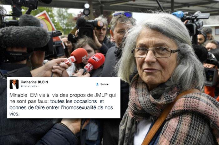 Catherine Blein, élue FN dans les Côtes-d'Armor, suspendue notamment pour « propos homophobes »