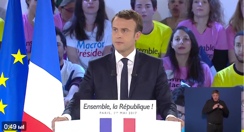 Diversité des familles : « Je défendrai ce qui a été fait pendant ce quinquennat », réaffirme Emmanuel Macron (VIDEO)