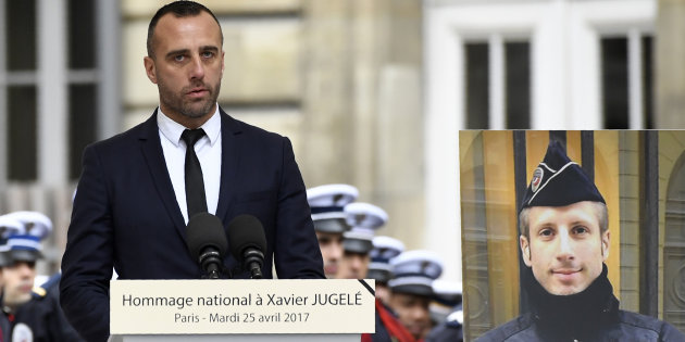 Plusieurs personnalités, dont le conjoint de Xavier Jugelé, signent une tribune contre Marine Le Pen