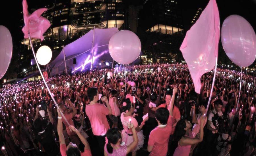 Singapour : la Pink Dot 2017 « interdite aux étrangers », sous peine d'amende et d'emprisonnement