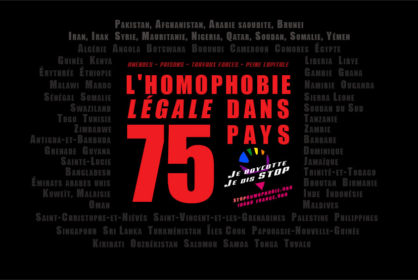 IDAHOT 2017 : Journée Internationale de lutte contre l'homophobie et la Transphobie (VIDEO)