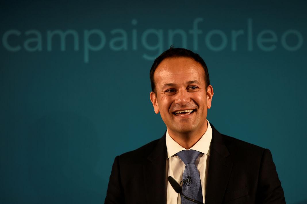 Leo Varadkar, 38 ans, premier chef de gouvernement ouvertement homosexuel en Irlande
