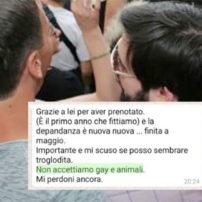 En Italie, « gays » et « animaux domestiques » interdits de séjour dans certaines « maisons d'hôtes »