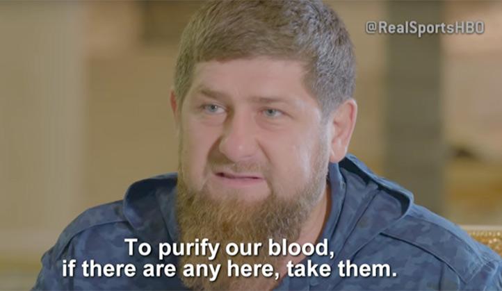 « Il faut se débarrasser des homosexuels pour purifier le sang tchétchène », déclare Ramzan Kadyrov (VIDEOS)