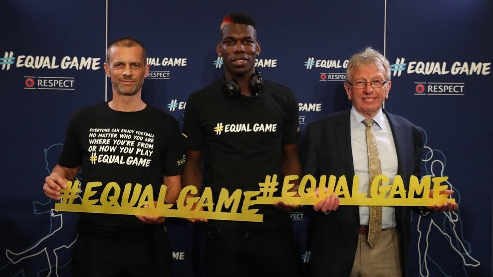 « EqualGame » : L'UEFA lance sa campagne pour promouvoir l'inclusion, la diversité et l'accessibilité dans le football (VIDEOS)