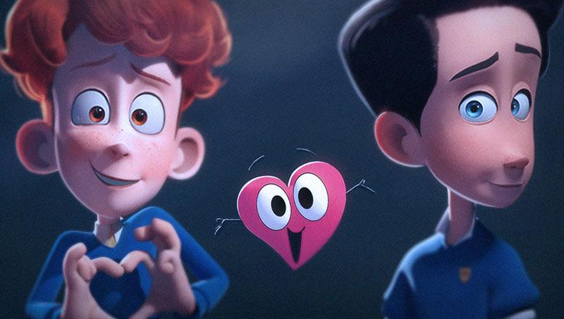 Succès fulgurant pour « In a Heartbeat », court-métrage d'animation sur une histoire d'amour entre deux garçons (VIDEOS)