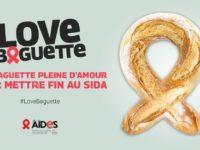 « Love baguette » : 1022 boulangeries engagées aux côtés de AIDES pour financer la lutte contre le sida (VIDEO)