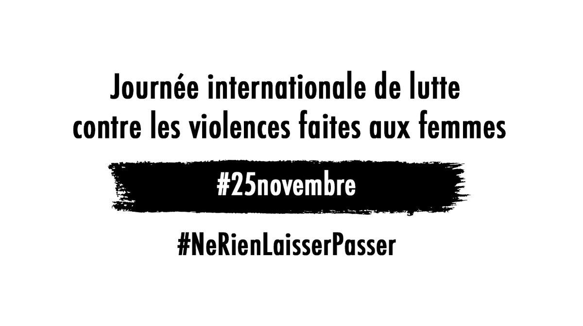 Journée internationale de lutte contre les violences faites aux femmes : « Ne rien laisser passer  » et parler ! (VIDEO)