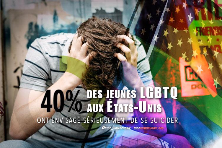 40% des adolescents LGBTQ ont « sérieusement envisagé » de se suicider, selon une étude américaine