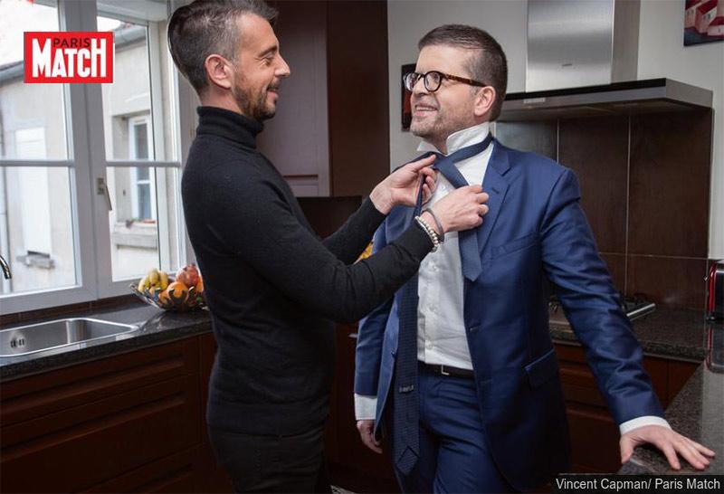 Égalité : Candidat à la tête du PS, Luc Carvounas et son mari Stéphane Exposito posent pour Match (VIDEO)