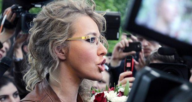 Ksenia Sobtchak, candidate à la présidentielle russe, favorable à l'ouverture du mariage pour tous (VIDEOS)