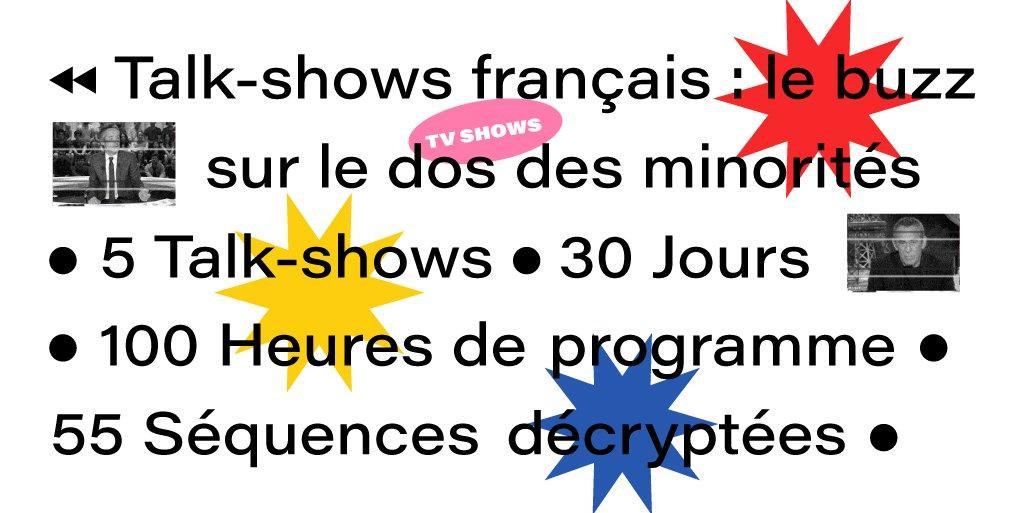 Sexisme, racisme, homophobie : les « Talk-shows français font le buzz sur le dos des minorités »