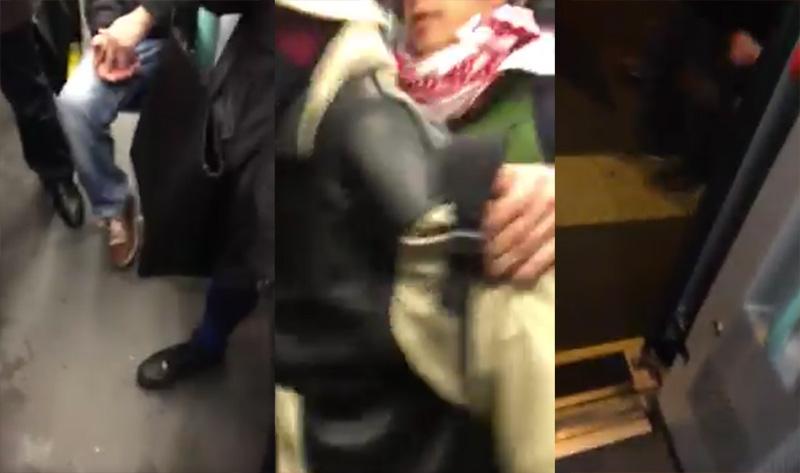 Un homophobe expulsé du tram de Genève : « C'est une histoire d'arroseur arrosé ! » (VIDEO)