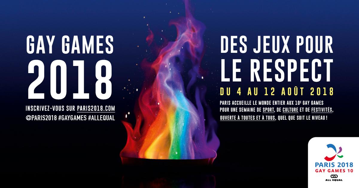 Arborons fièrement les couleurs de « Paris 2018 » pour soutenir les « mondiaux de la diversité » (VIDEO)
