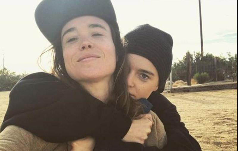 Félicitations : L'actrice canadienne Ellen Page et sa compagne Emma Porter se sont mariées (VIDEOS)