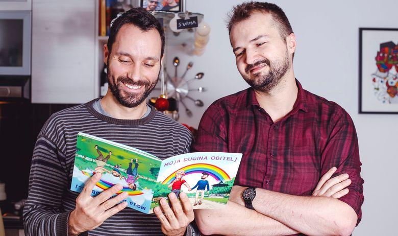 « Ma famille arc-en-ciel », le premier livre pour enfants traitant de l'homoparentalité au sein de la société croate