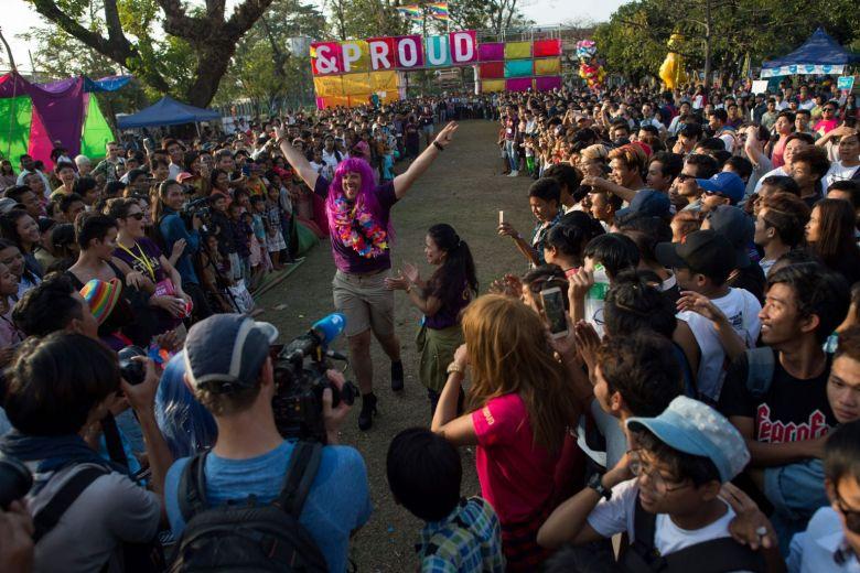 Un premier festival LGBT « public » en Birmanie, où l'homosexualité demeure officiellement interdite