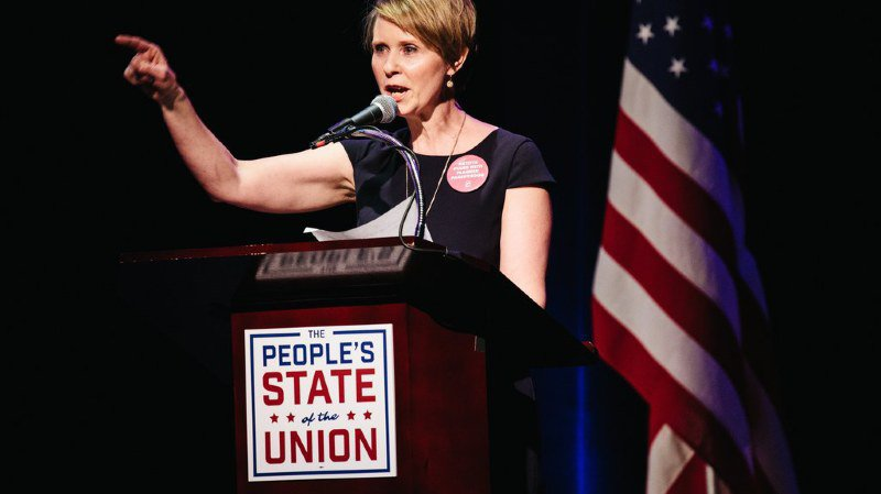 Militante pour les droits LGBT, Cynthia Nixon candidate au poste de gouverneur de New York