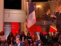 """François Hollande : « Emmanuel Macron est plutôt ce qu'on pourrait dire """"passif"""" dans ce couple avec Trump » (VIDEO)"""