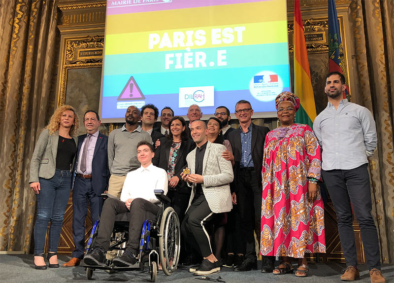 Lauréats 2018 du « Paris Prize for LGBT Rights » : Handi-Queer, la NGLHRC et Ameen Rhayem (VIDEO)