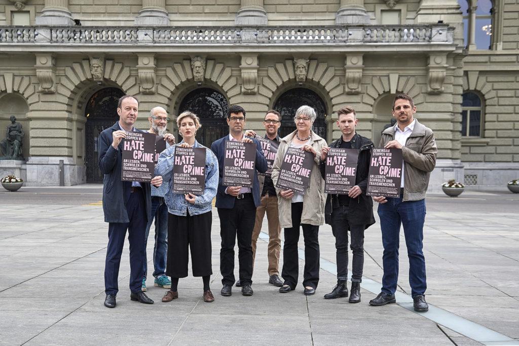 Suisse : Plus de 80% des victimes de LGBTphobies renoncent à déposer plainte « par méfiance » et lacune législative