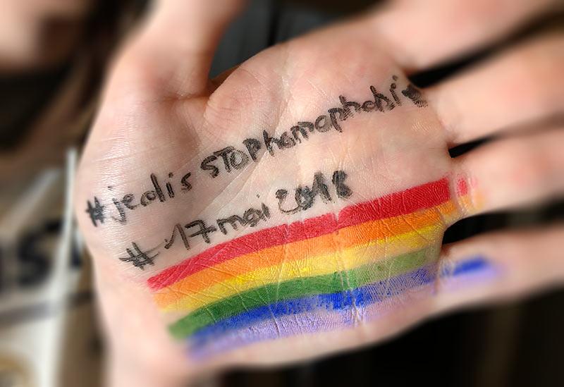 IDAHOT 2018 : « Je suis homosexuel et j'ai peur pour mon avenir », Nicolas B., 15 ans ce 17 mai !